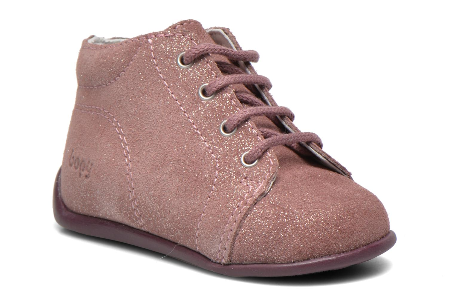 Ankle boots Bopy Padova Pink detailed view/ Pair view