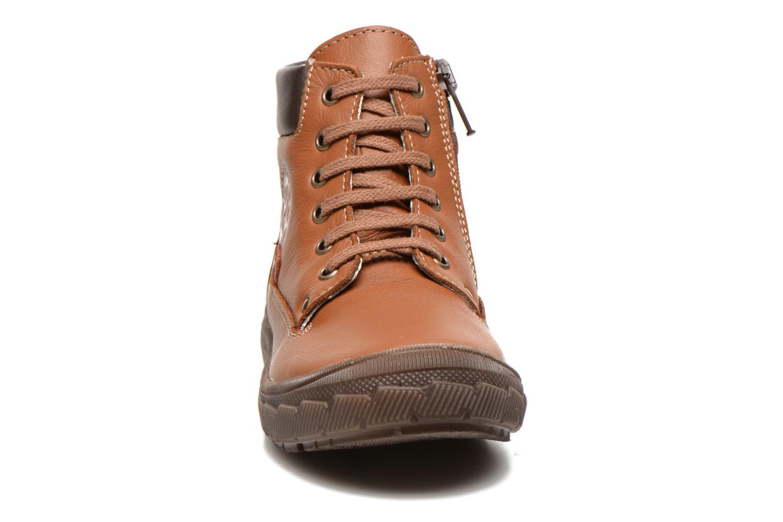 Baskets Bopy Vimber Marron vue portées chaussures