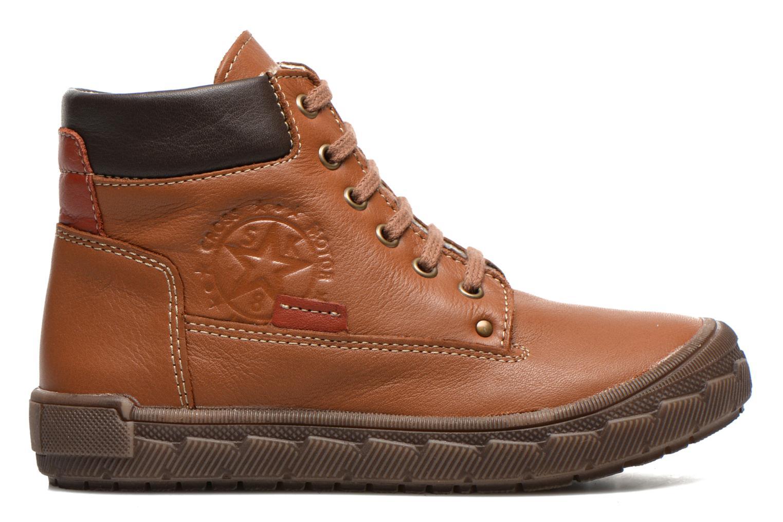 Sneaker Bopy Vimber braun ansicht von hinten