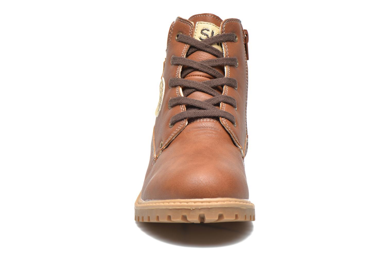 Bottines et boots Bopy Terblain Marron vue portées chaussures
