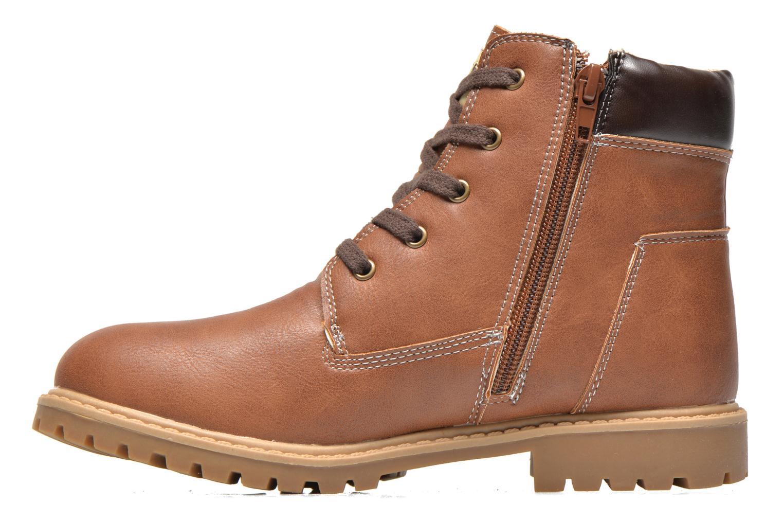 Bottines et boots Bopy Terblain Marron vue face