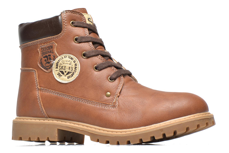Bottines et boots Bopy Terblain Marron vue derrière