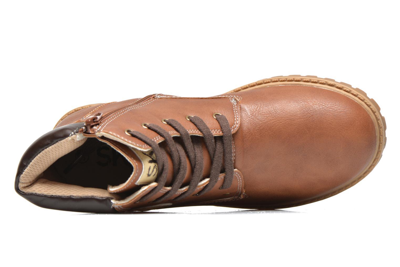 Bottines et boots Bopy Terblain Marron vue gauche