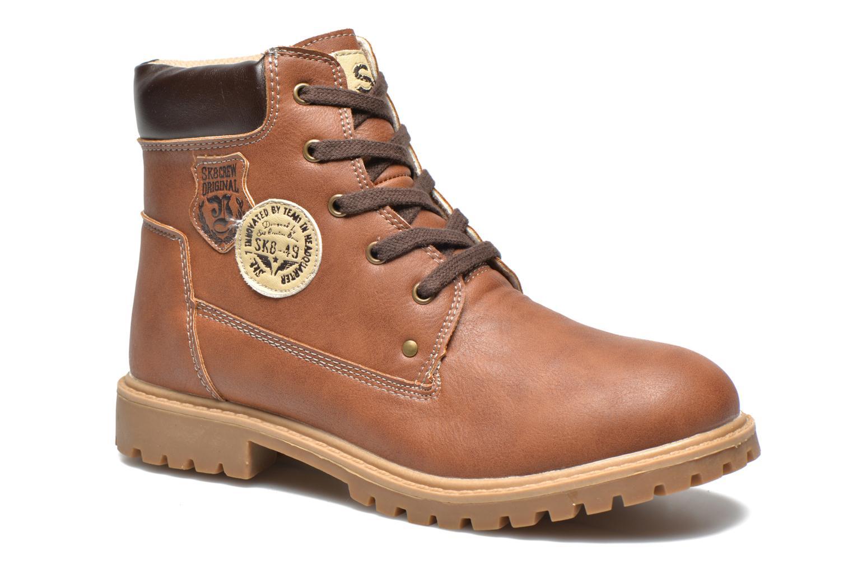 Bottines et boots Bopy Terblain Marron vue détail/paire