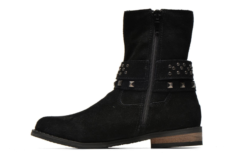 Stiefel Bopy Crock schwarz ansicht von vorne