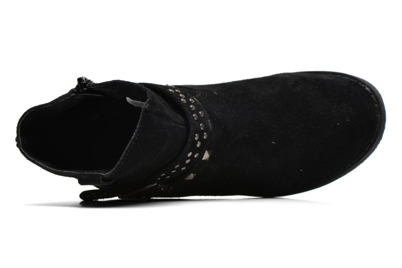 Stiefel Bopy Crock schwarz ansicht von links