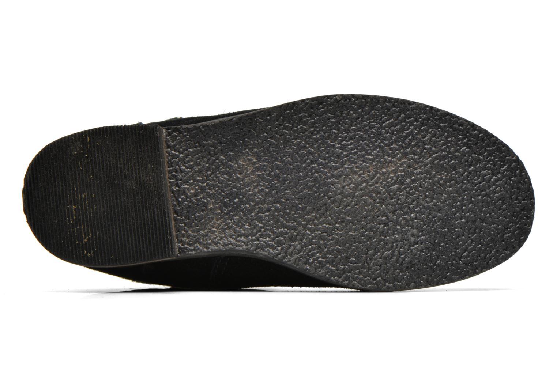 Stiefel Bopy Crock schwarz ansicht von oben