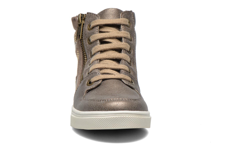 Baskets Bopy Lozip Or et bronze vue portées chaussures