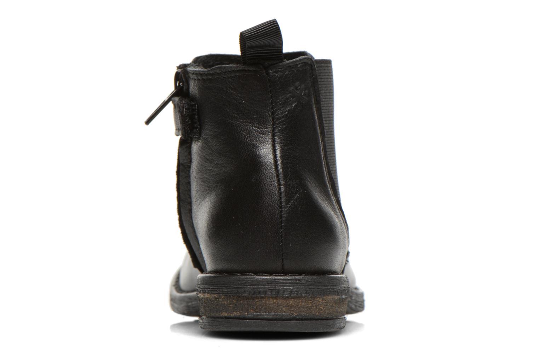 Bottines et boots Acebo's Aurelio Noir vue droite