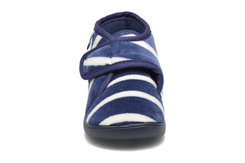 Pantofole Petit bateau PB Medievalo Azzurro modello indossato