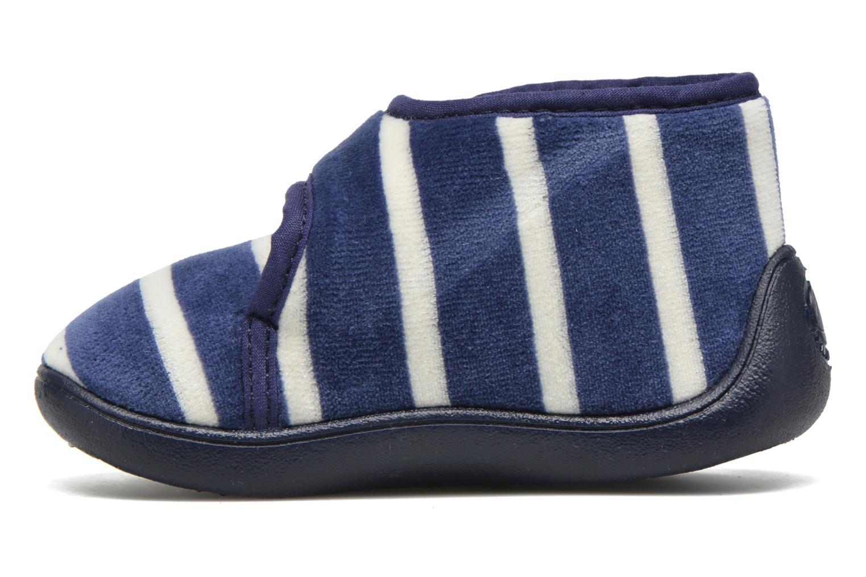 Pantofole Petit bateau PB Medievalo Azzurro immagine frontale