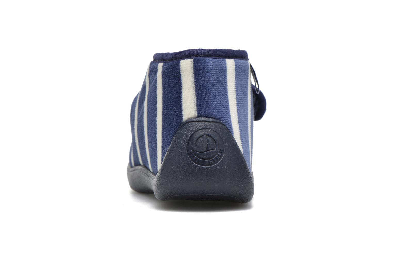Pantofole Petit bateau PB Medievalo Azzurro immagine destra