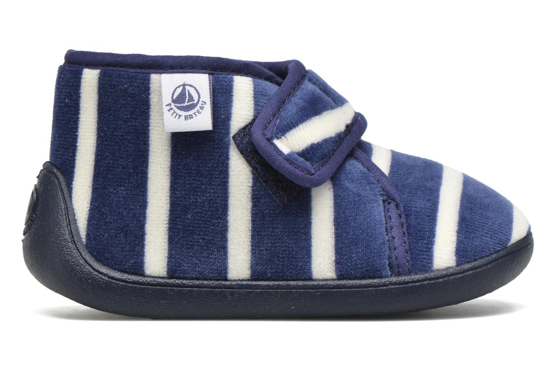 Pantofole Petit bateau PB Medievalo Azzurro immagine posteriore