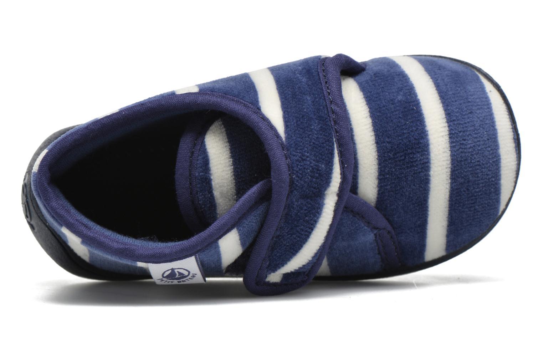 Pantofole Petit bateau PB Medievalo Azzurro immagine sinistra