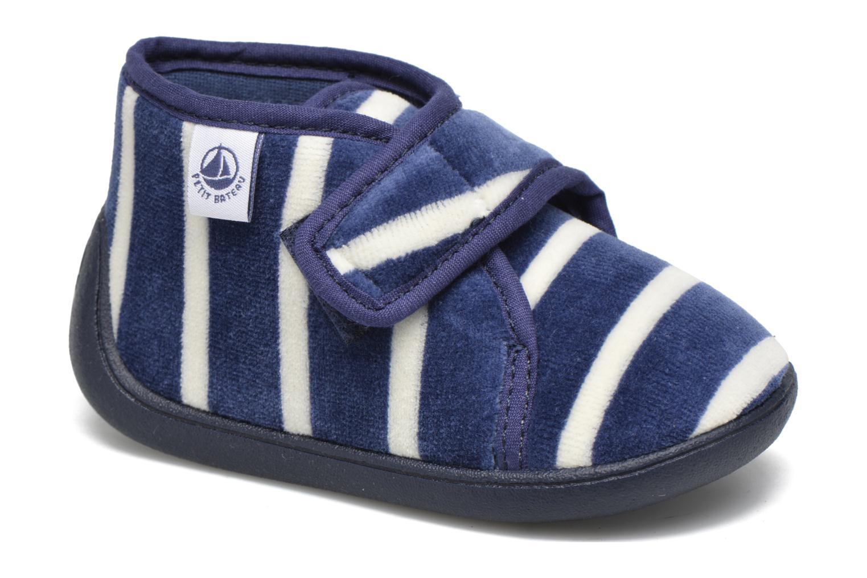Pantofole Petit bateau PB Medievalo Azzurro vedi dettaglio/paio