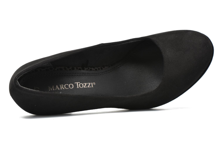 Escarpins Marco Tozzi Hover Noir vue gauche
