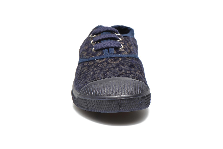 Sneaker Bensimon Tennis Gold Leopard E blau schuhe getragen