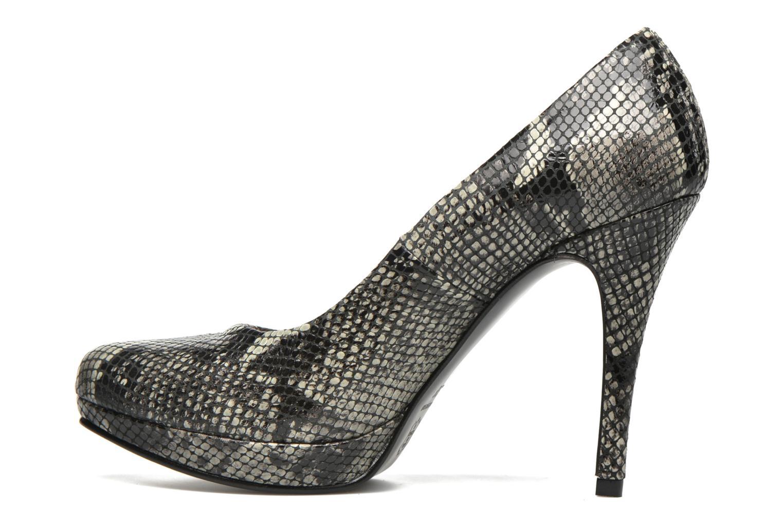 Zapatos de tacón Anna Volodia Copla Beige vista de frente