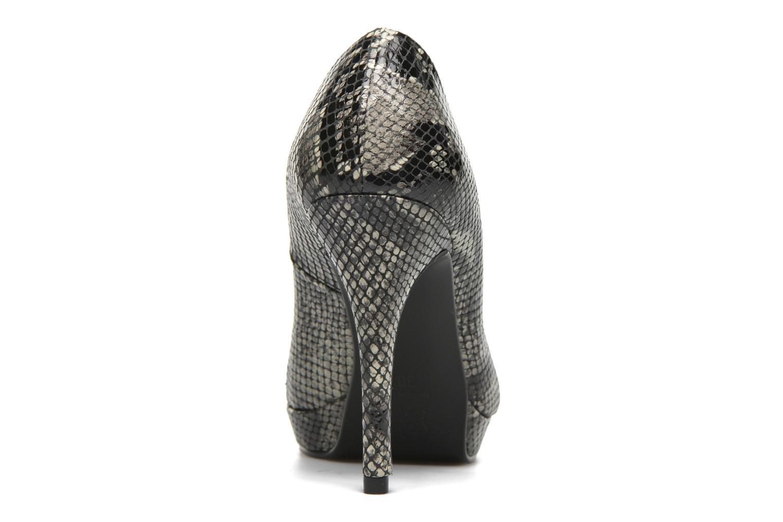 Zapatos de tacón Anna Volodia Copla Beige vista lateral derecha