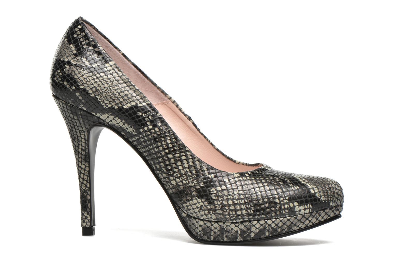 Zapatos de tacón Anna Volodia Copla Beige vistra trasera