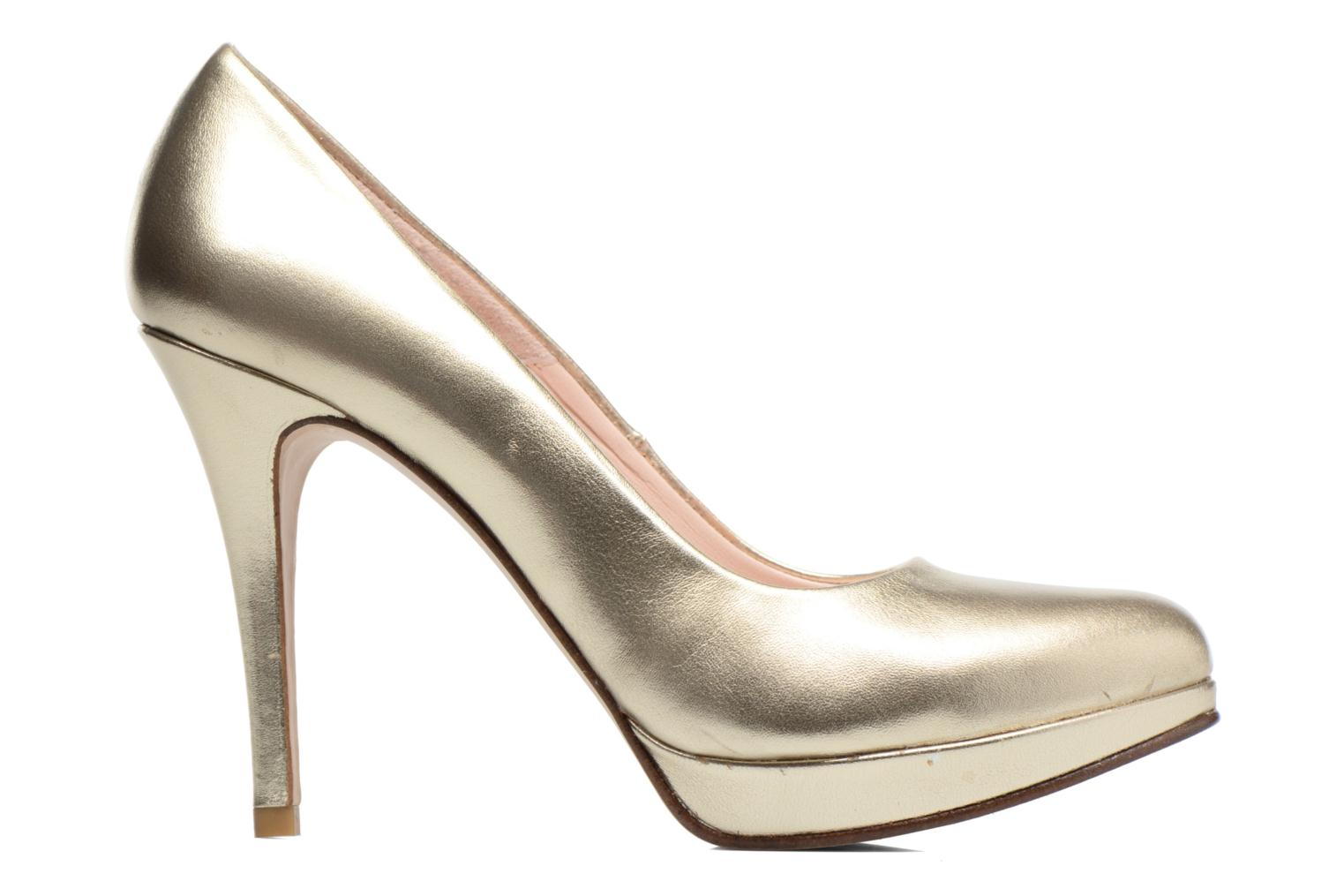 High heels Anna Volodia Copla Bronze and Gold back view