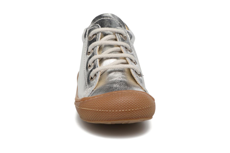 Zapatos con cordones Naturino Cocoon Plateado vista del modelo