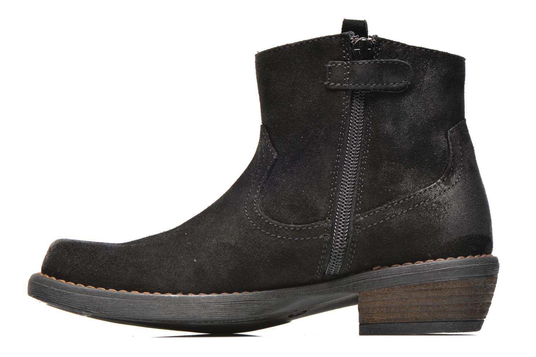 Bottines et boots Unisa Waylon Noir vue face