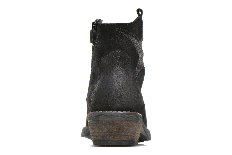 Bottines et boots Unisa Waylon Noir vue droite