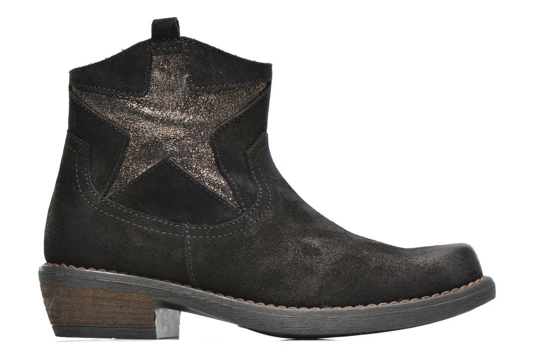 Bottines et boots Unisa Waylon Noir vue derrière