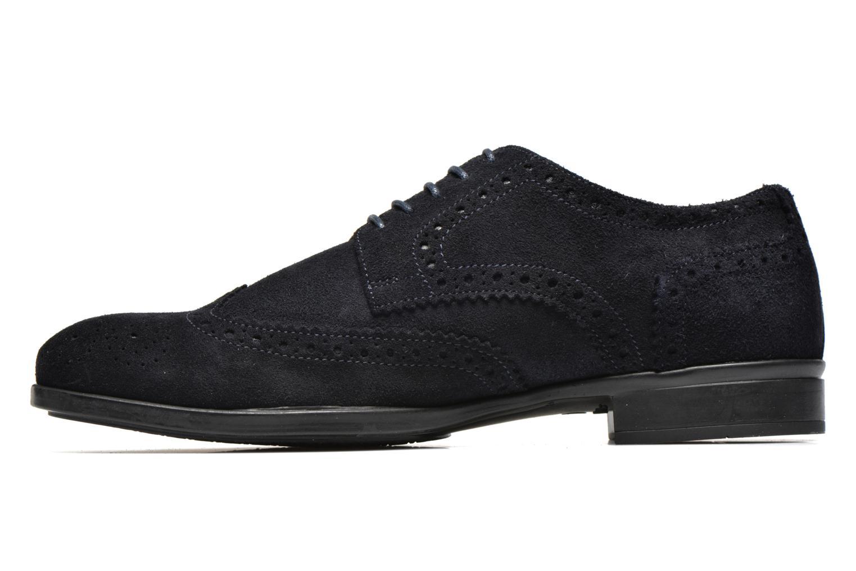 Chaussures à lacets Marvin&Co Thenich Bleu vue face