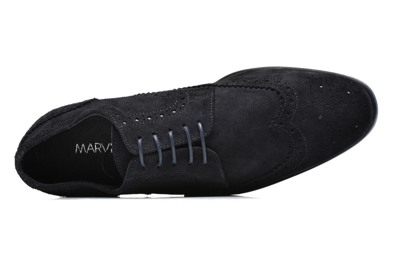 Chaussures à lacets Marvin&Co Thenich Bleu vue gauche
