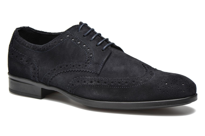 Chaussures à lacets Marvin&Co Thenich Bleu vue détail/paire