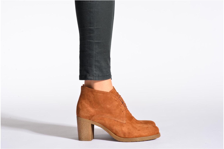 Stiefeletten & Boots Georgia Rose Jinventivo schwarz ansicht von unten / tasche getragen