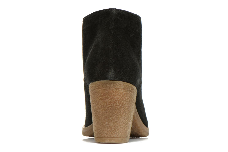 Bottines et boots Georgia Rose Jinventivo Noir vue droite