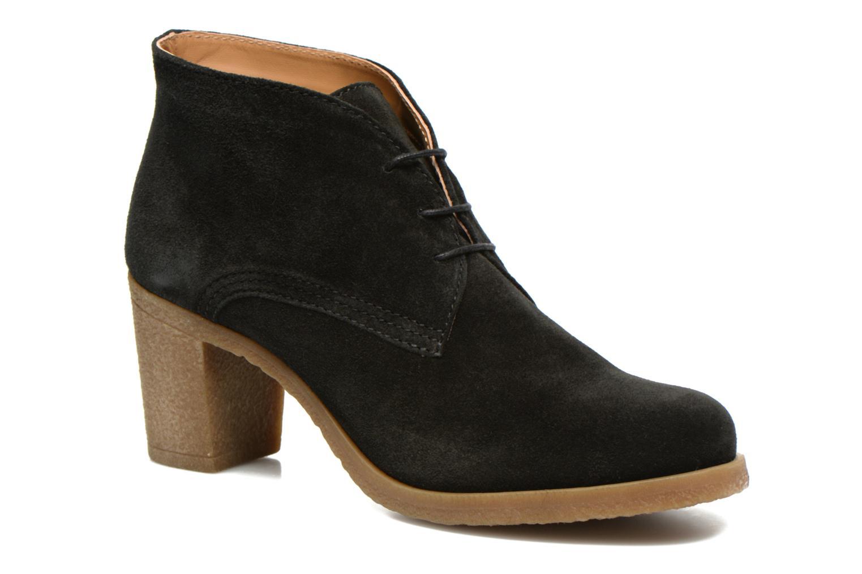 Bottines et boots Georgia Rose Jinventivo Noir vue détail/paire