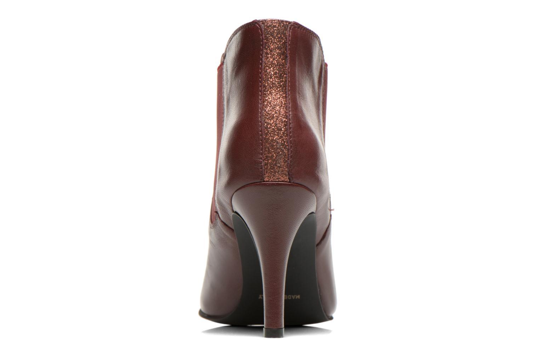 Bottines et boots Georgia Rose Jorosa Bordeaux vue droite