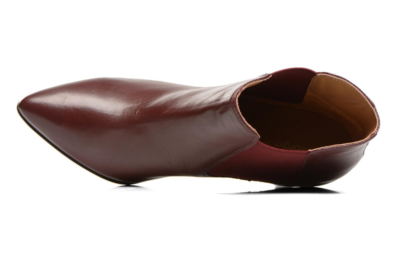 Bottines et boots Georgia Rose Jorosa Bordeaux vue gauche