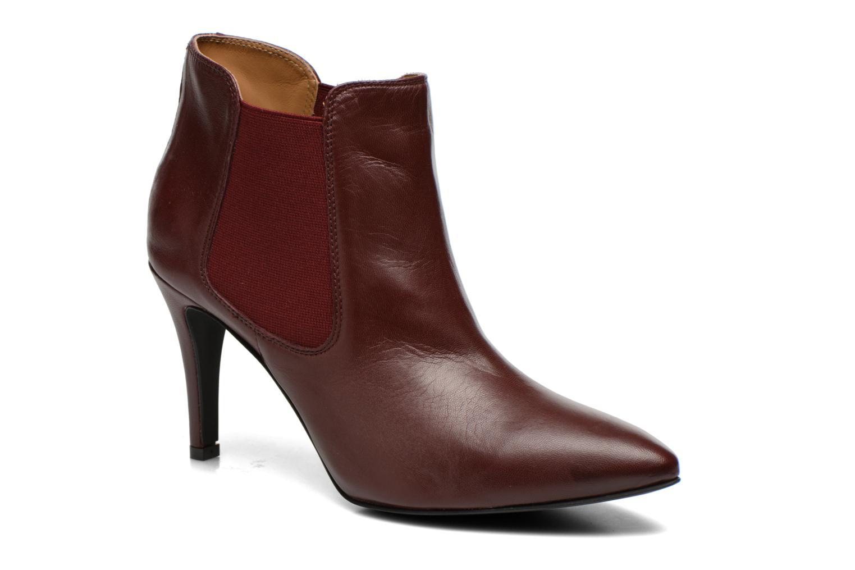 Bottines et boots Georgia Rose Jorosa Bordeaux vue détail/paire