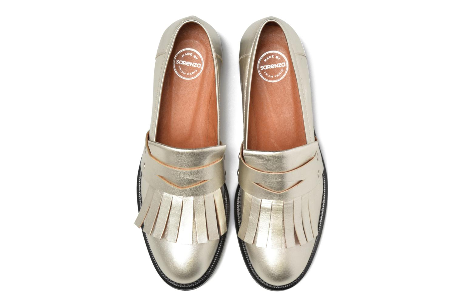 Loafers Made by SARENZA Vegas Lipstick #3 Silver model view