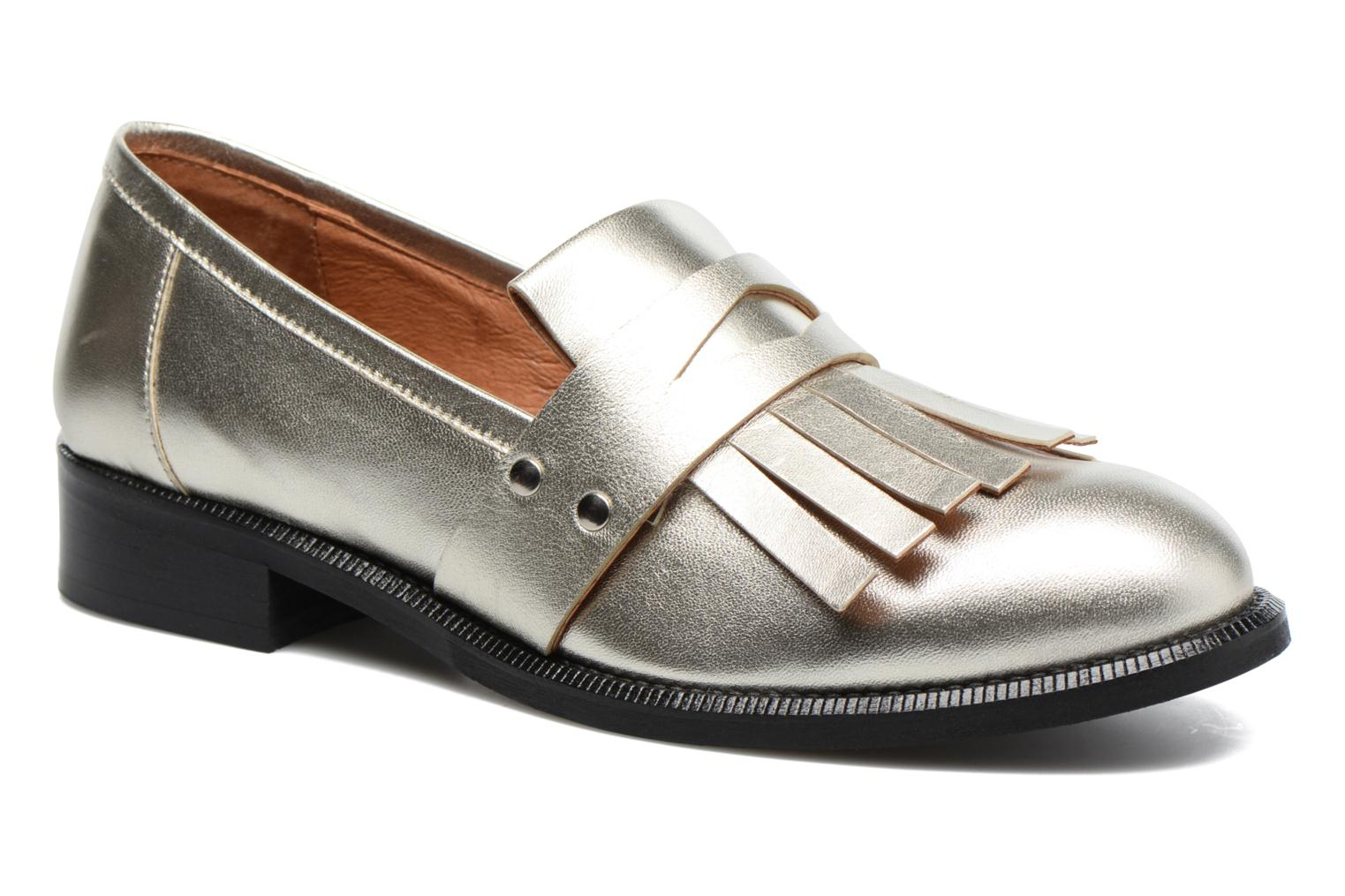 Loafers Made by SARENZA Vegas Lipstick #3 Silver view from the right