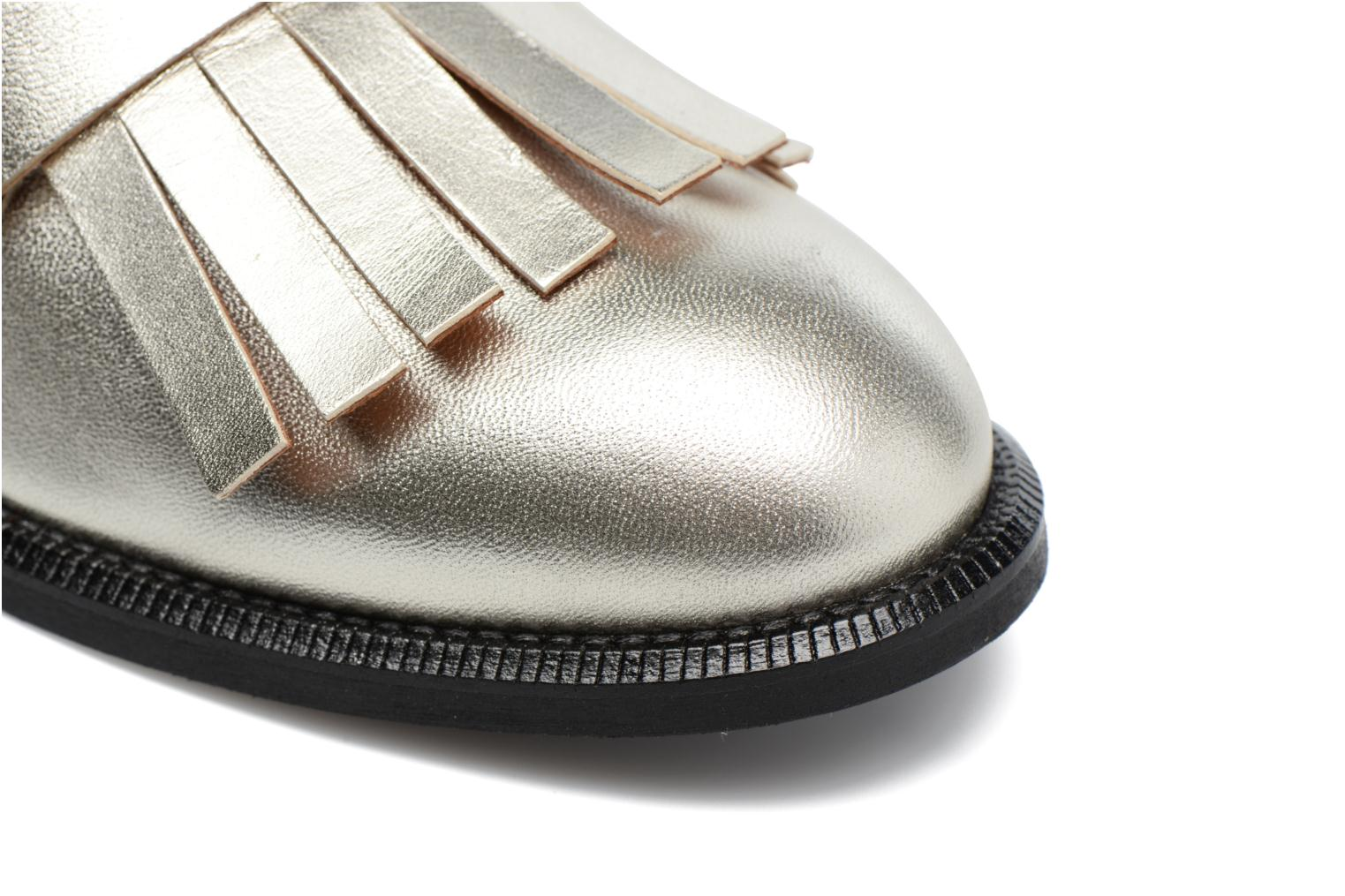 Loafers Made by SARENZA Vegas Lipstick #3 Silver view from the left