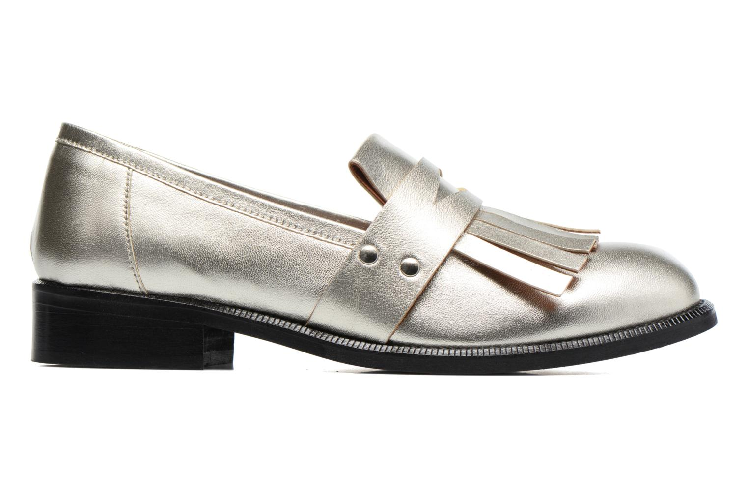 Loafers Made by SARENZA Vegas Lipstick #3 Silver detailed view/ Pair view
