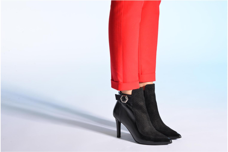 Bottines et boots Made by SARENZA Pop Party #3 Noir vue bas / vue portée sac