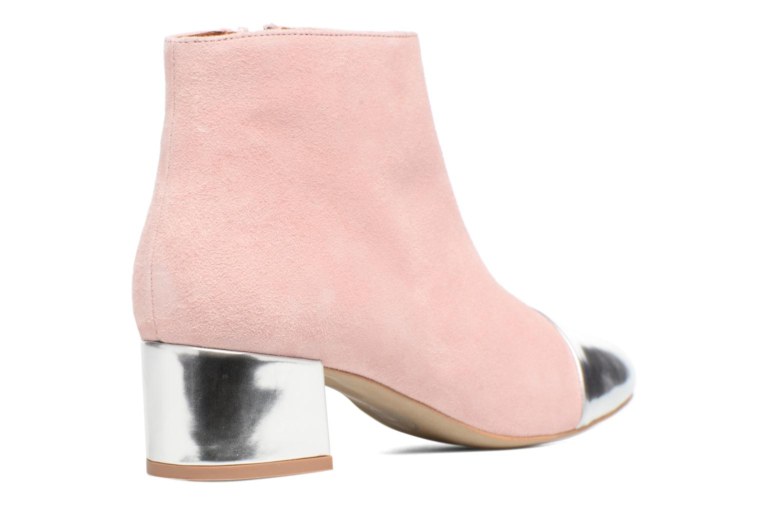 Ankle boots Made by SARENZA Donut hut #7 Pink front view