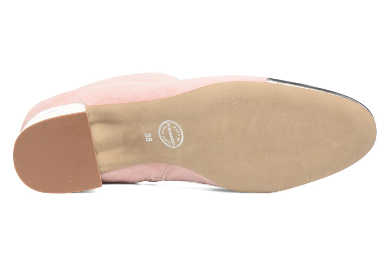 Stiefeletten & Boots Made by SARENZA Donut hut #7 rosa ansicht von oben
