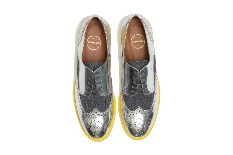 Zapatos con cordones Made by SARENZA Busy Girl Chaussures à Lacets #3 Plateado vista del modelo