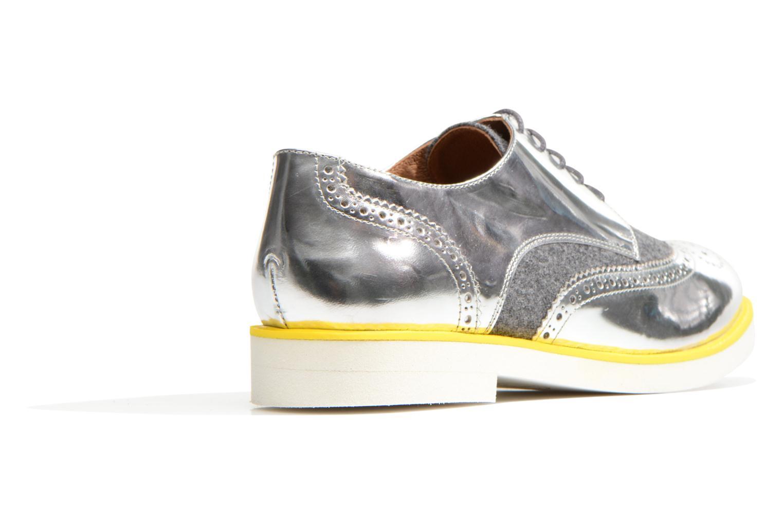 Schnürschuhe Made by SARENZA Busy Girl Chaussures à Lacets #3 silber ansicht von vorne
