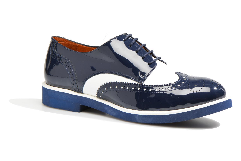 Schnürschuhe Made by SARENZA Busy Girl Chaussures à Lacets #3 blau ansicht von rechts