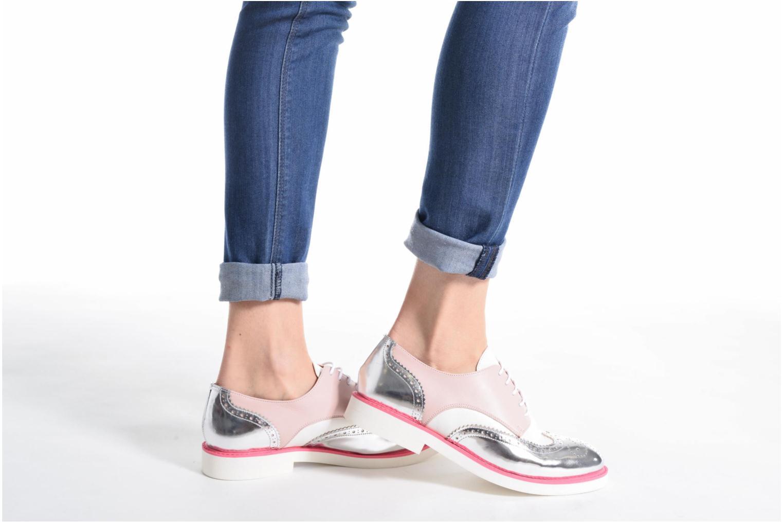 Zapatos con cordones Made by SARENZA Partygloo #3 Rosa vista de abajo