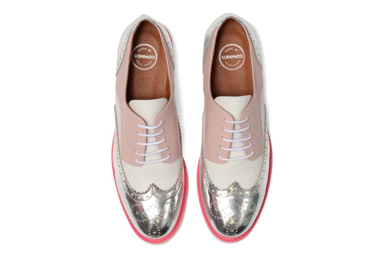 Zapatos con cordones Made by SARENZA Partygloo #3 Rosa vista del modelo